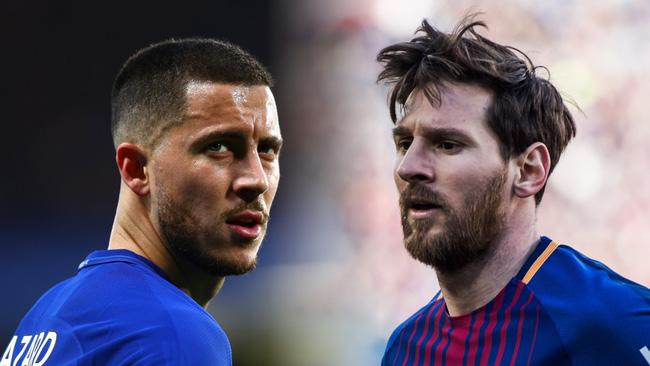 Phong độ cao nhất châu Âu, Hazard và Messi cạnh tranh tóe lửa cho Quả bóng Vàng 2018? - Ảnh 6.