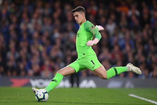 Đặt lên bàn cân 3 thủ môn trị giá 158 triệu bảng của Liverpool, Chelsea và Arsenal - Ảnh 1.