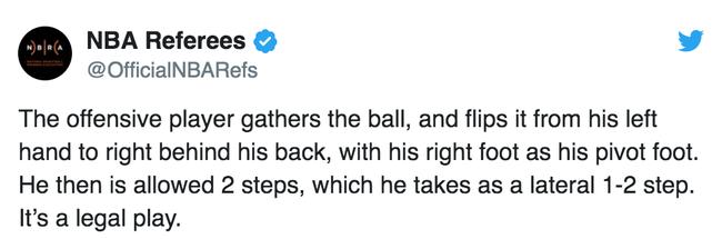 James Harden có mắc lỗi chạy bước hay không? Ban trọng tài NBA chính thức lên tiếng  - Ảnh 2.