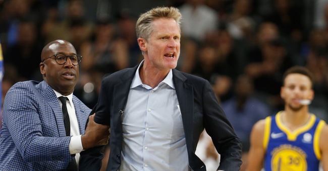 Đỉnh điểm ngán ngẩm, HLV Warriors mỉa mai: LaVar chả khác gì Kardashian của giới NBA - Ảnh 1.