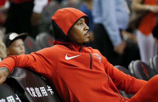 Carmelo Anthony chính là mắt xích phòng ngự yếu nhất của Houston Rockets - Ảnh 1.