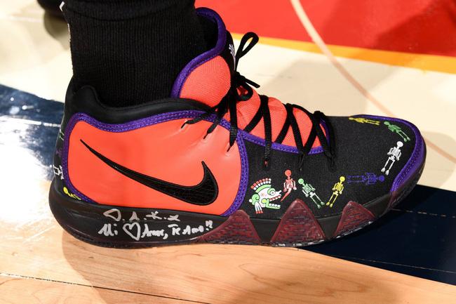 Top những mẫu giày bóng rổ đỉnh nhất tuần thứ 2 NBA: Tuần của sự tri ân và những đôi giày đầy ý nghĩa - Ảnh 10.