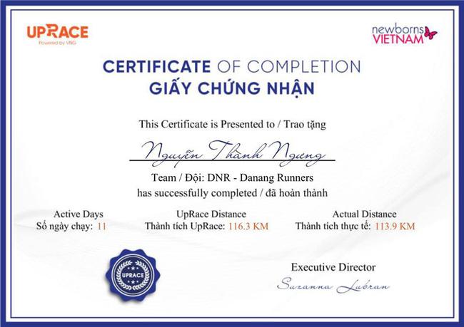 Các VĐV UpRace và quỹ Newborns Vietnam sẽ nhận được tài trợ khủng khi chạy giải marathon - Ảnh 5.