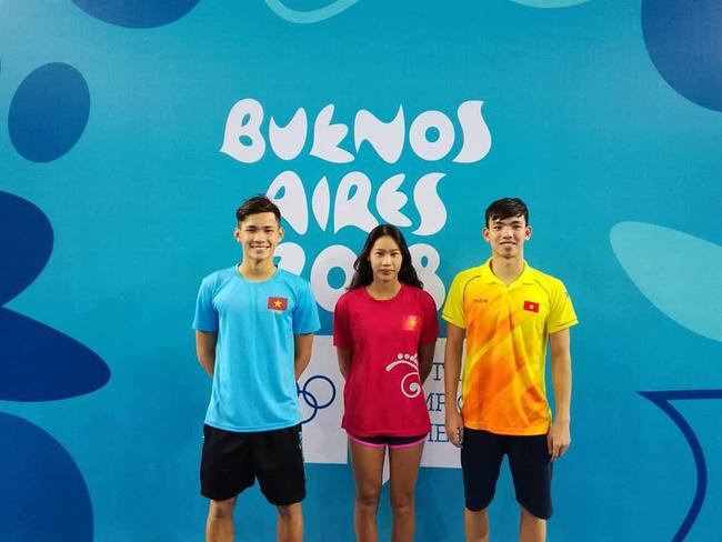 Kình ngư Nguyễn Huy Hoàng mở hàng ngoạn mục ở Olympic trẻ 2018 - Ảnh 1.