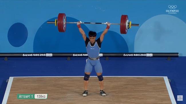Ngô Sơn Đỉnh giành HCV Olympic trẻ 2018 ở hạng cân tủ 56kg - Ảnh 2.