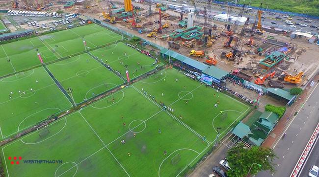Địa chỉ và giá thuê các sân bóng ở Quận Thanh Xuân, Hà Nội (quanh khu Lê Văn Lương, Khuất Duy Tiến) - Ảnh 2.