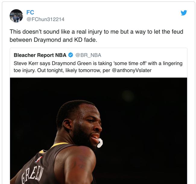 Draymond Green có thực sự gặp chấn thương hay đây là chiêu trò của Golden State Warriors? - Ảnh 2.