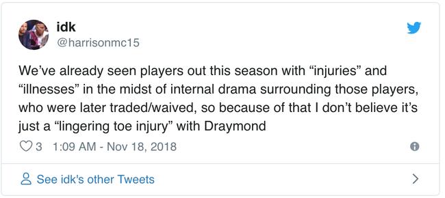 Draymond Green có thực sự gặp chấn thương hay đây là chiêu trò của Golden State Warriors? - Ảnh 3.