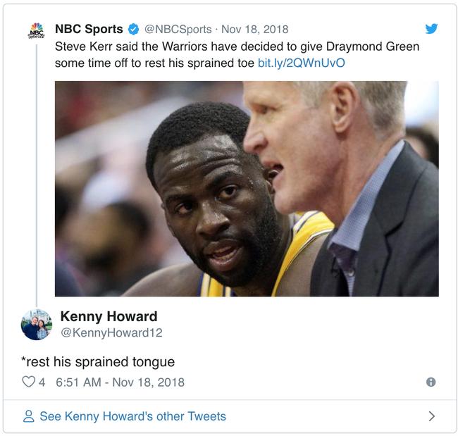 Draymond Green có thực sự gặp chấn thương hay đây là chiêu trò của Golden State Warriors? - Ảnh 4.