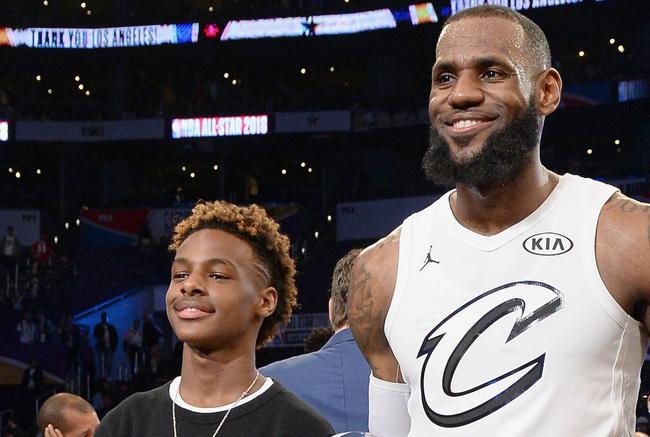 LeBron James hưng phấn nhắc lại viễn cảnh chơi bóng cùng con trai tại NBA - Ảnh 3.