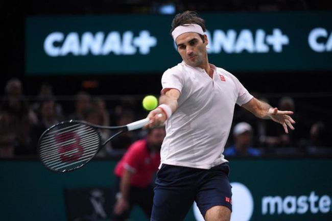 Federer đại chiến Djokovic đang cúm ở bán kết Paris Masters - Ảnh 1.