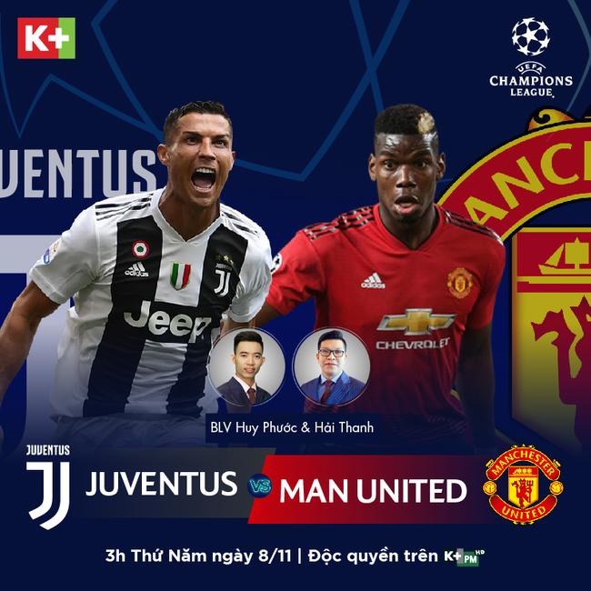 Trực tiếp bóng đá: Xem trực tiếp trận Juventus vs Man Utd ở đâu?  - Ảnh 3.