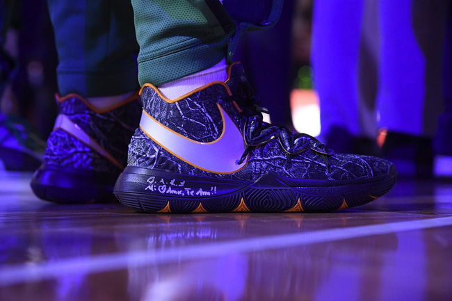 Top những mẫu giày bóng rổ đỉnh nhất tuần 3 NBA: Khi vua giày PJ Tucker mang chất thời trang lên sàn gỗ - Ảnh 6.