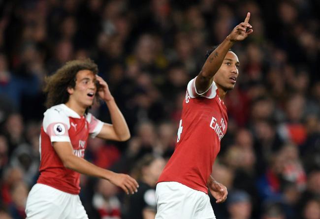 Aubameyang xuất sắc đến mức nào để nhận giải hay nhất tháng của Arsenal? - Ảnh 1.