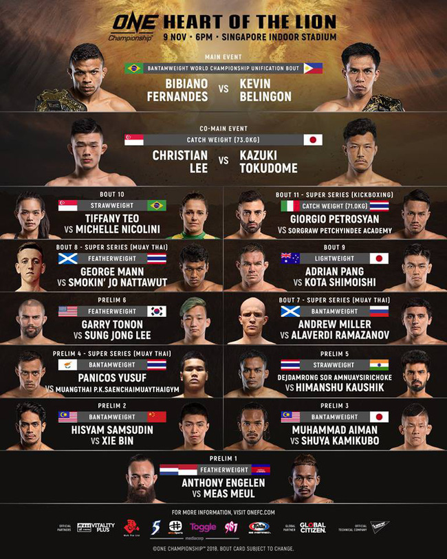 TRỰC TIẾP ONE Championship: Heart of The Lion - Ảnh 25.