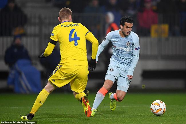 Giroud tỏa sáng, chấm dứt mạch tịt ngòi và top 5 điểm nhấn ấn tượng trận BATE - Chelsea - Ảnh 5.