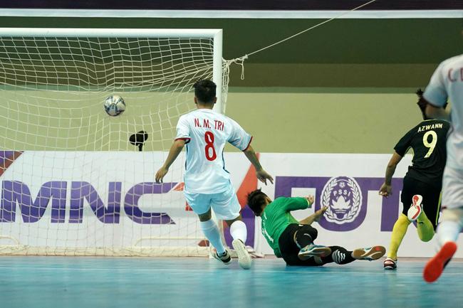 Futsal Việt Nam lại ngậm trái đắng trước Malaysia ở bán kết - Ảnh 3.