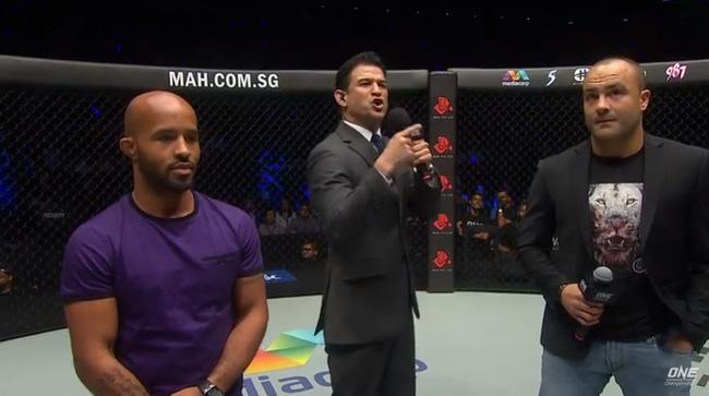 Hai cựu siêu sao UFC nói gì trong lần đầu tiên đứng trên sàn ONE Championship? - Ảnh 2.