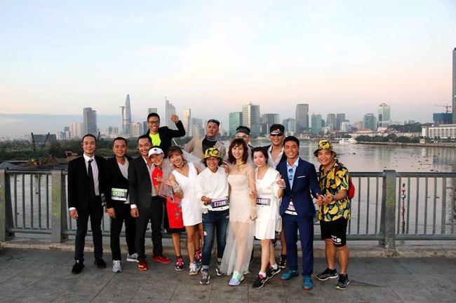 Cosplay chạy giải marathon ở Sài Gòn: Từ Ninja Lead đến Hoa hướng dương tặng bệnh nhi ung thư - Ảnh 8.
