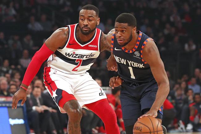 Rộ tin đồn New York Knicks đang dồn hết công lực để giải cứu John Wall khỏi Washington Wizards - Ảnh 1.