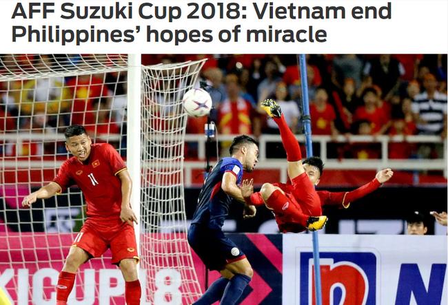 """Truyền thông nước ngoài: """"Việt Nam tràn đầy năng lượng"""" chấm dứt hy vọng tạo phép lạ của Philippines tại AFF Cup - Ảnh 2."""