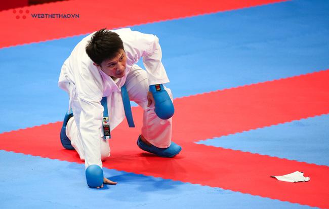 VĐV Karate Nguyễn Minh Phụng mong giành ít nhất 1 giải thưởng tại Cúp chiến thắng 2018 - Ảnh 1.
