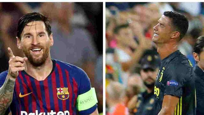 Khi Ronaldo tịt ngòi, Messi càn quét các kỷ lục xé lưới đối phương như thế nào? - Ảnh 1.
