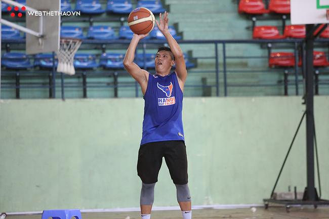 Đội tuyển bóng rổ Hà Nội hội quân sẵn sàng cho Đại hội Thể dục thể thao - Ảnh 8.