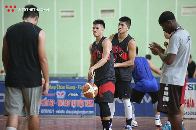 Đội tuyển bóng rổ Hà Nội hội quân sẵn sàng cho Đại hội Thể dục thể thao - Ảnh 1.