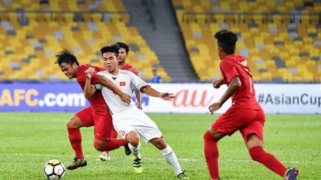Thể lực, dứt điểm kém trước Indonesia, U16 Việt Nam mong manh cơ hội đi tiếp tại U16 châu Á - Ảnh 2.