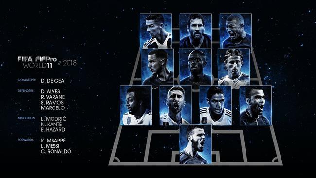 Trực tiếp lễ trao giải thưởng FIFA The Best 2018: Luka Modric giật giải Cầu thủ xuất sắc nhất - Ảnh 4.