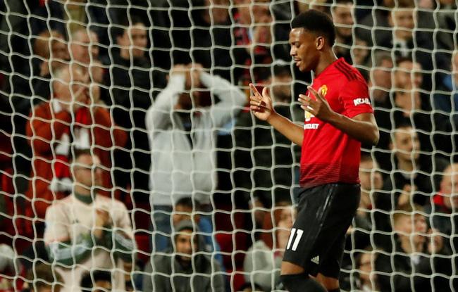 Cơn ác mộng Martial và 5 thống kê khó tin từ trận Man Utd - Derby ở Carabao Cup 2018 - Ảnh 1.
