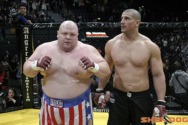 Butterbean vs. James Thompson