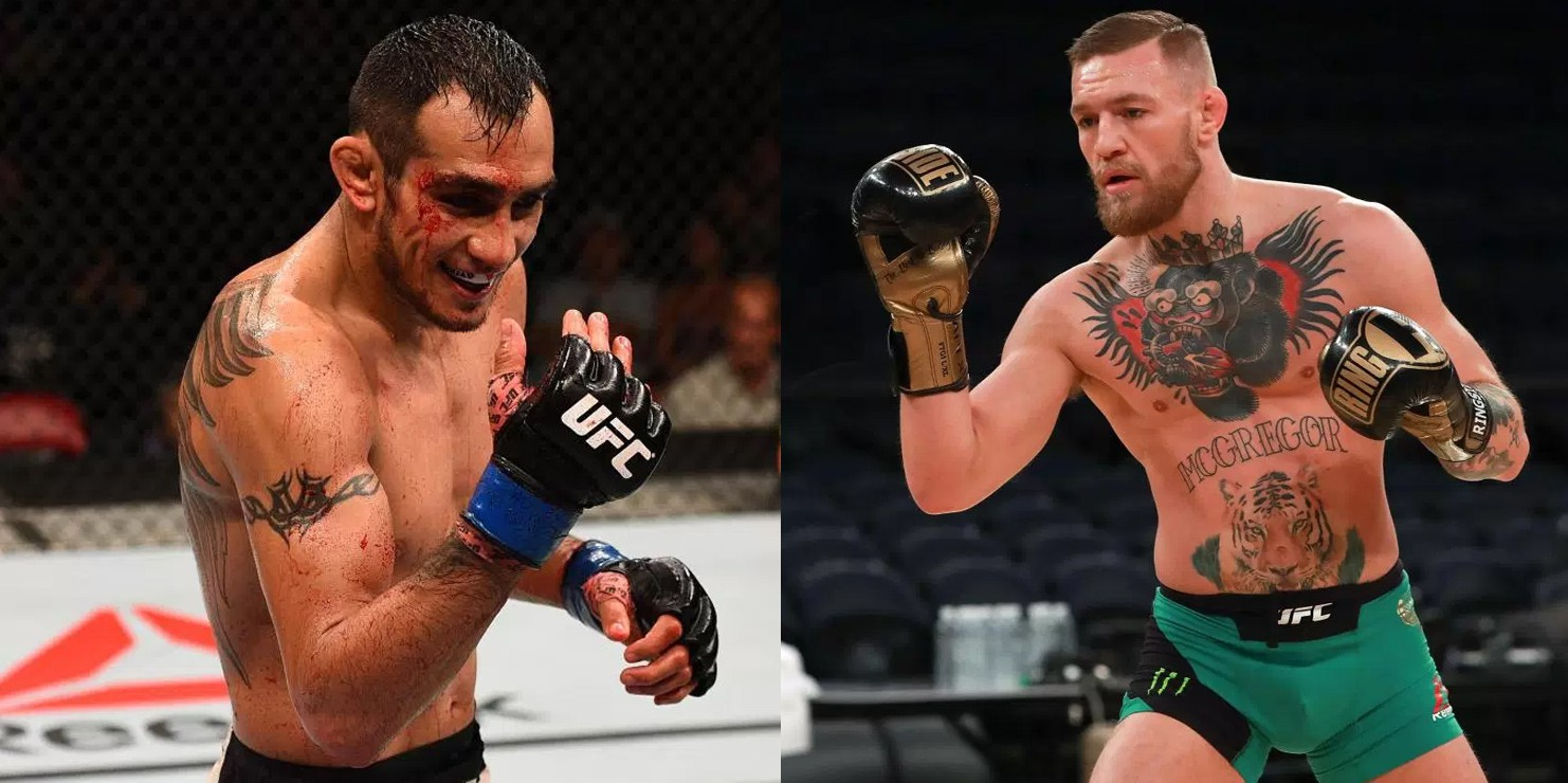 conor mcgregor tony ferguson