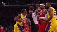Chris Paul, Rajon Rondo và Brandon Ingram đấm nhau trước mặt Floyd Mayweather tại NBA 2018/19