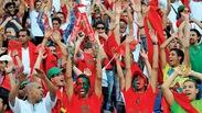 Khoảnh khắc World Cup 2018: CĐV Morocco hòa ca cùng CĐV Bồ Đào Nha dù đội nhà bị loại