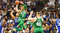 Trước trận khai mạc NBA, Jayson Tatum buông lời châm chọc Sixers