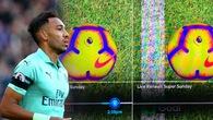 Công nghệ Goal-line bị nghi có vấn đề trong tình huống ghi bàn của Aubameyang