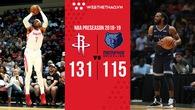 Chưa quen nhịp ném 3 của Houston Rockets, Carmelo Anthony phải xin lỗi đồng đội vì lỡ tay ném quả 2 điểm vào rổ