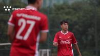 Quốc Chí thức tới 6h sáng tâm sự cùng đồng đội sau khi bị loại ở AFF Cup 2018