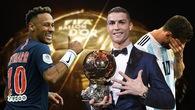 Neymar chọn... Ronaldo thay vì Messi cho danh hiệu Quả bóng vàng 2018