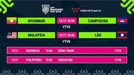 Lịch thi đấu AFF Cup 2018 mới nhất hôm nay 12/11