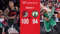 Do r? b? méo 2 hi?p ??u, Boston Celtics m?i thua Portland Trail Blazers?