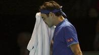 Đánh không lại Nishikori, Federer trút giận vào các cậu bé nhặt bóng