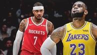 Carmelo Anthony tuyên bố không đến Lakers dù có LeBron James