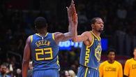 """Cả NBA mừng hụt khi sau tất cả, Draymond Green và Kevin Durant đã """"trở về với nhau"""""""