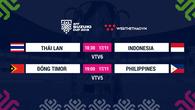 Lịch thi đấu AFF Cup 2018 mới nhất hôm nay 17/11