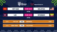 Lịch thi đấu AFF Cup 2018 mới nhất hôm nay 16/11