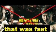 HOT: Tr?n Floyd Mayweather vs Tenshin Nasukawa b? h?y