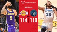 Trung phong mới Tyson Chandler ra mắt viên mãn với LA Lakers nhờ 3 pha rebound